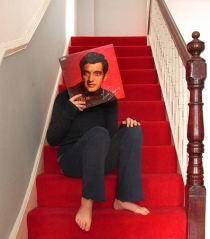 Frankie said that our stairs were the only place he could ever really think clearly.